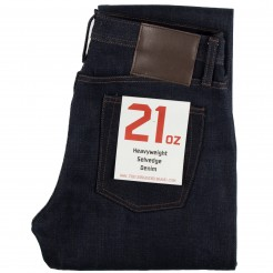 JEAN SELVEDGE UNBRANDED BRAND TAPERED 21OZ